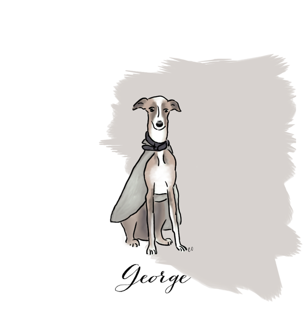 Leslie Tessler's dog George
