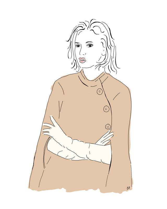 Leslie Tessler cape