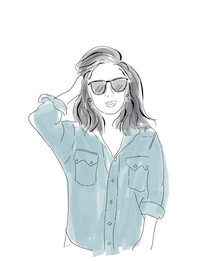 Olivia Munn portrait