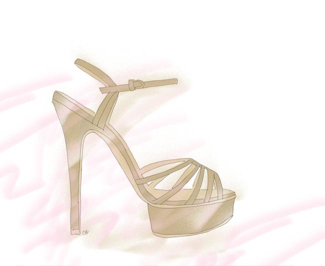 Charlotte Olympia Gilda platform sandals