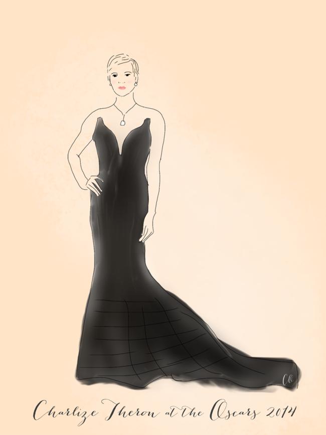 Charlize-Theron-Oscars2014