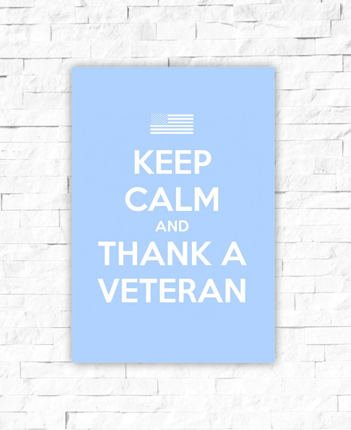 Keep calm and thank a veteran art